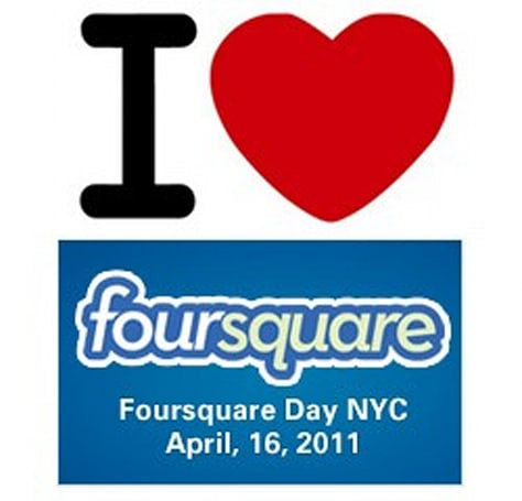 New York City marks April 16th as Foursquare Day, Mayor feeling good about his chances
