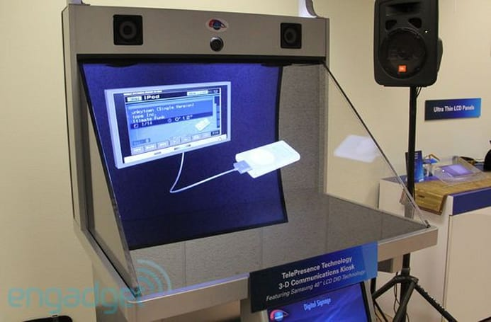 TelePresence Tech kiosk to bring virtual shopping to a mall near you, we go hands-on