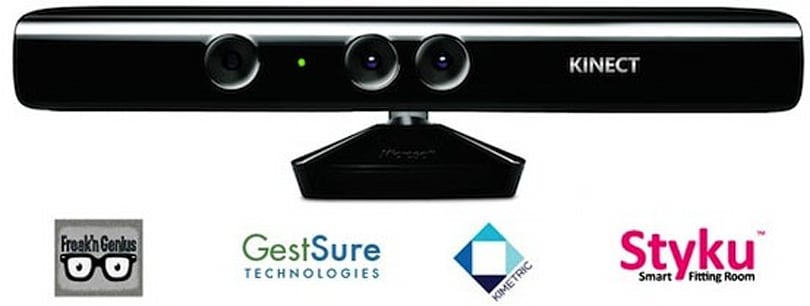 Kinect Accelerator company profiles: Freak'n Genius, GestSure Technologies, Kimetric and Styku