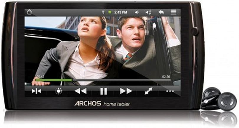 Archos 7 Home Tablet sees revision 2, with Android 2.1 and faster 800MHz CPU