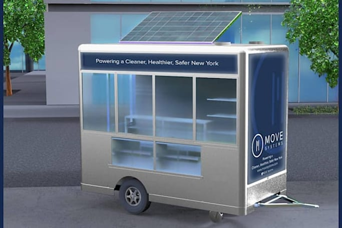 New York's getting 500 solar-powered food carts this summer