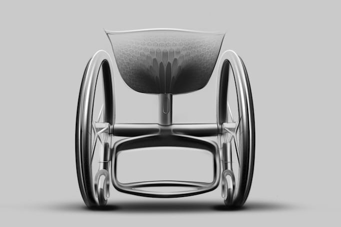 3D-printed wheelchair promises more comfortable rides