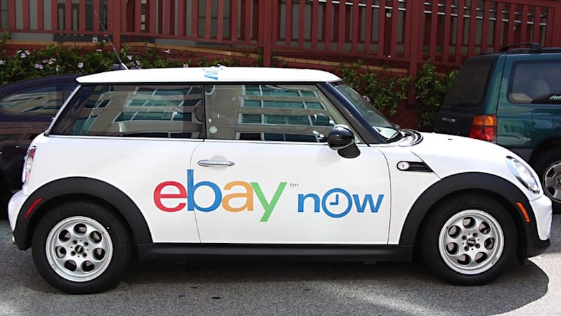 eBay is shutting down its on-demand delivery service