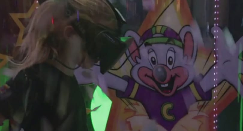 Oculus Rift joins the Chuck E. Cheese cast