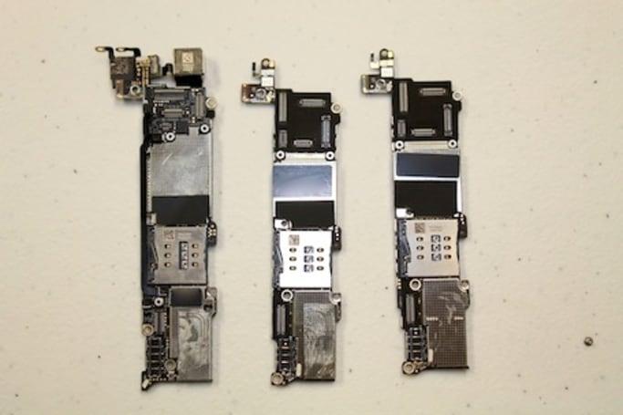 iPhone 5c, 5s teardown by Australian repair shop