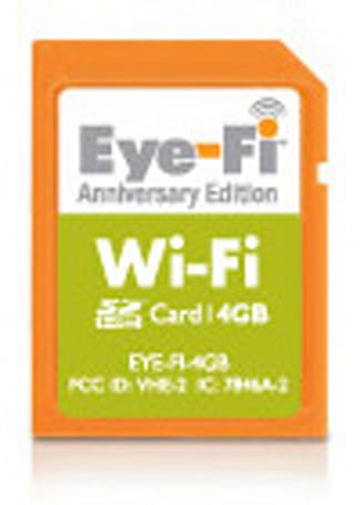 Eye-Fi celebrates a year with 4GB Anniversary Edition SD card