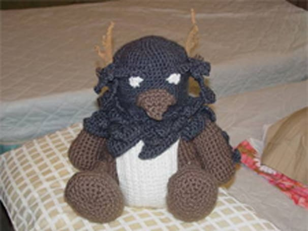 World of WarCrafts: Crochet Boomkin