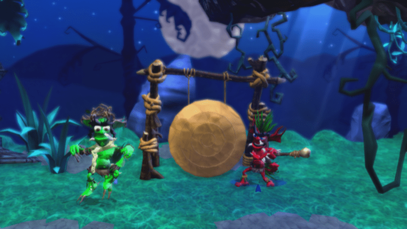 First screens of NinjaBee's Ancients of Ooga for XBLA