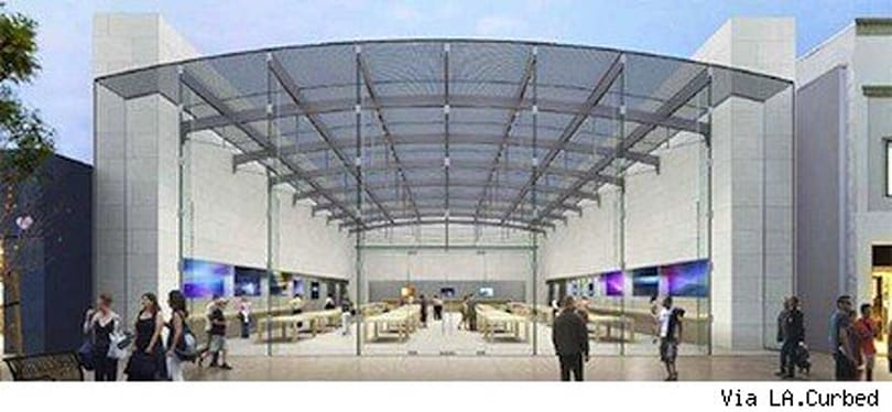 Plans reveal huge LA Apple Store expansion