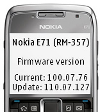 Nokia brings firmware update to North American E71