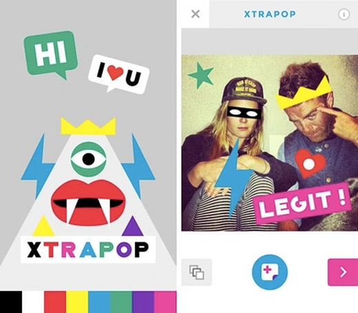 Daily App: Xtrapop adds pop culture to your photos as long as you pay up