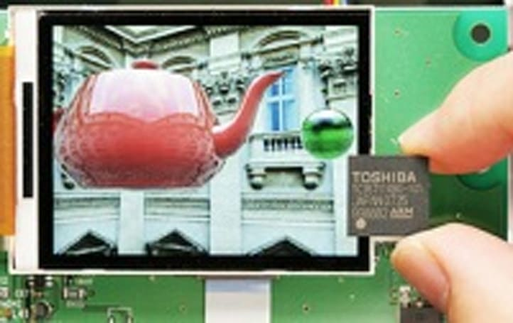 Toshiba set to release best-ever 3D chip for handsets