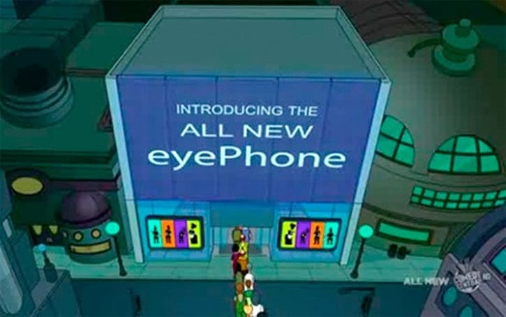 EyePhone reference mysteriously disappears from online clips of Futurama