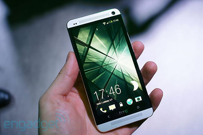 HTC One hands-on: design and hardware