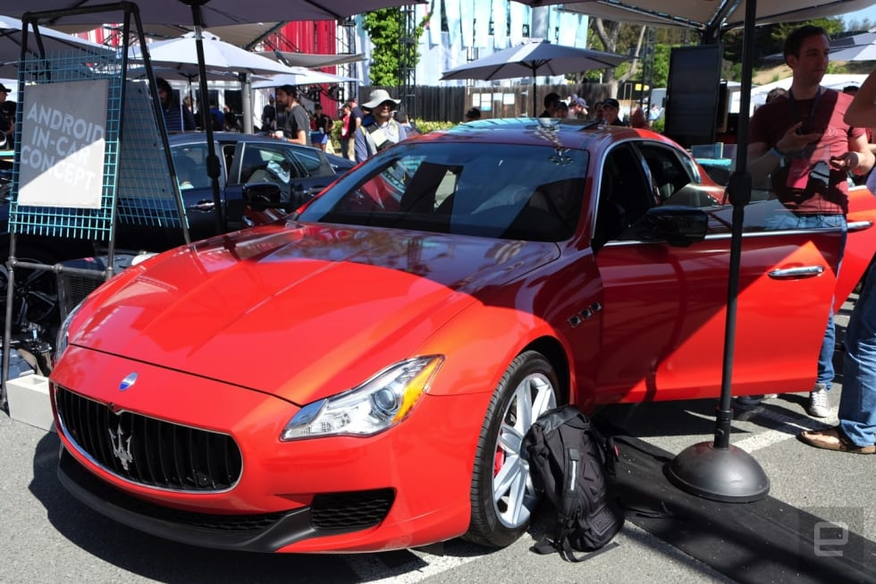 Google and Qualcomm put Android Auto in charge of this Maserati