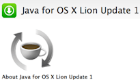 Apple releases Java for OS X Lion Update 1, Java for Mac OS X 10.6 Update 6