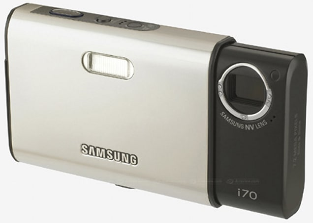 Samsung stuffs PMP functionality inside its i70 digicam