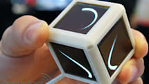 OLED Display Blocks pack six 128 x 128 panels, we go hands-on at MIT (video)
