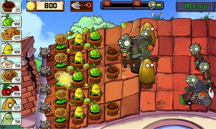 Plants vs. Zombies vs. Windows Phone 7