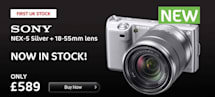 Sony NEX-5 pops up in UK for £589, no waiting required