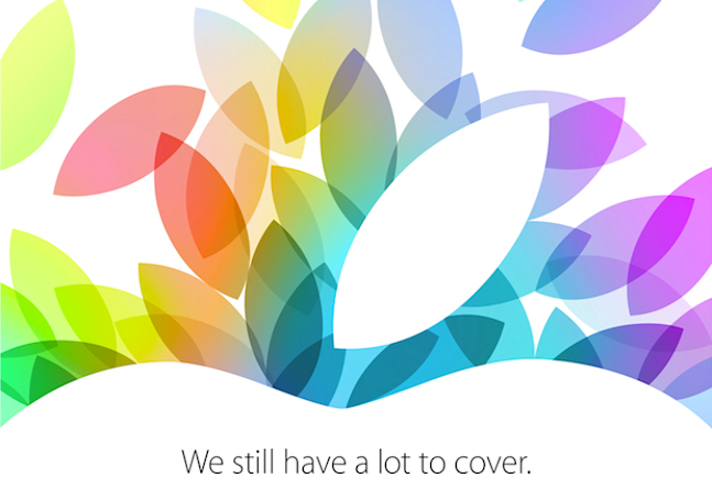 Apple confirms October 22nd event, still has 'a lot to cover'