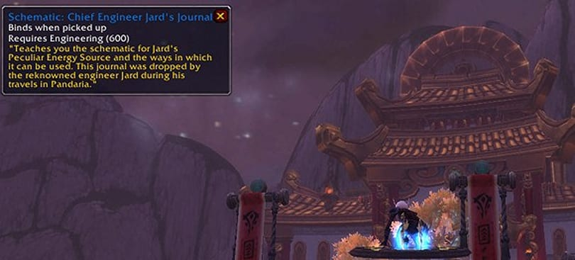 Patch 5.4 PTR: Jard and his amazing engineering journal