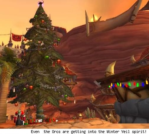 The Twelve Days of Winter Veil: Day two