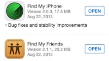 Find My iPhone app updated, doesn't work for non-devs (Updated)