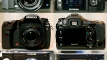 Check out the E-400, K10D and NV7 in their Photokina glory