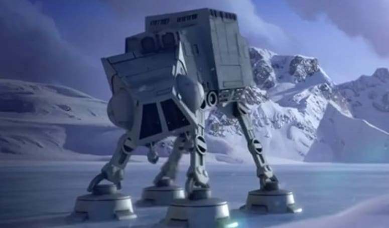Angry Birds Star Wars lands on the planet Hoth