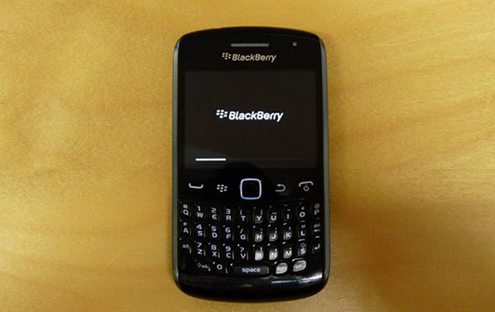 RIM's BlackBerry Curve 9360 outed -- is this Apollo?