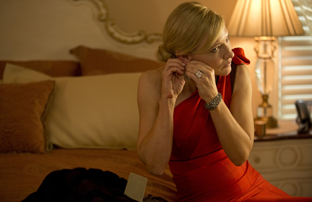 Woody Allen wanted nothing to do with the hugely important wardrobe for Blue Jasmine