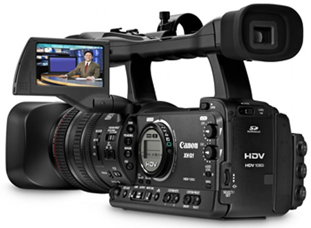 Two new 'compact' prosumer HD cams from Canon - XH G1 & XH A1