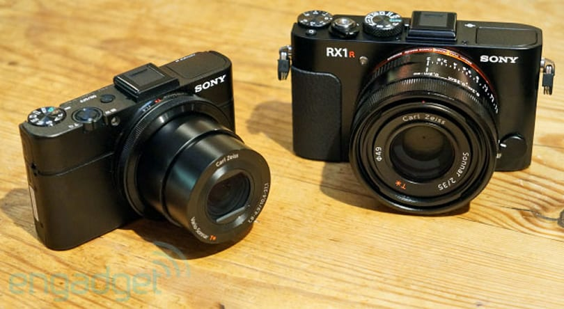 Sony expands high-end Cyber-shot lineup with RX100M2, full-frame RX1R (hands-on)