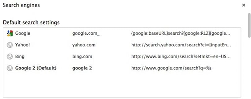 Google Chrome searches redirecting to blank.html (Update: fixed!)