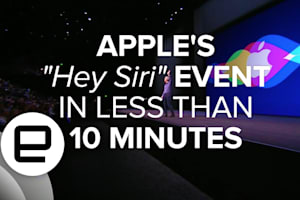 """Apple's """"Hey Siri"""" Event in Less Than 10 Minutes"""