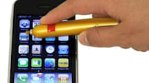 Sausage stylus for the iPhone now on sale in the US