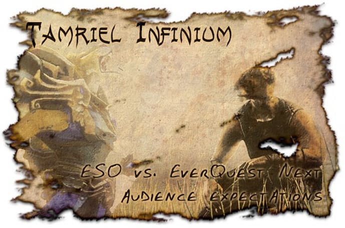 Tamriel Infinium: Audience expectations, Elder Scrolls Online, and EverQuest Next