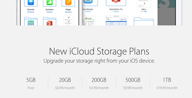 Apple is offering existing iCloud users a partial refund after price drop