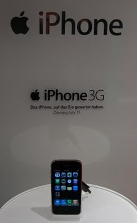 iPhone 3G on display in Germany: alles in Ordnung