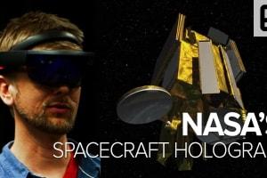 NASA's Spacecraft Hologram