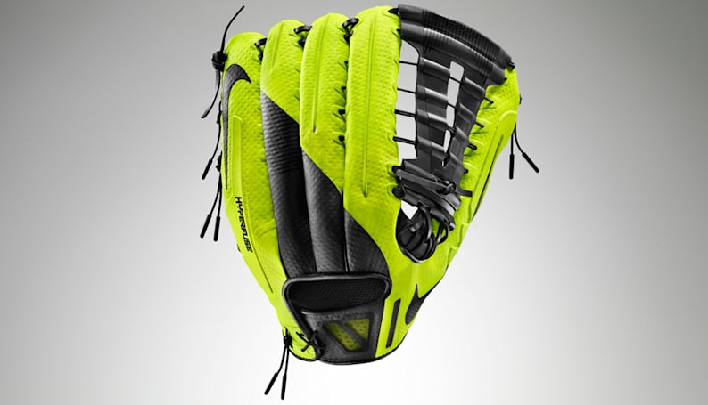 Nike's new baseball glove construction doesn't take months to break in