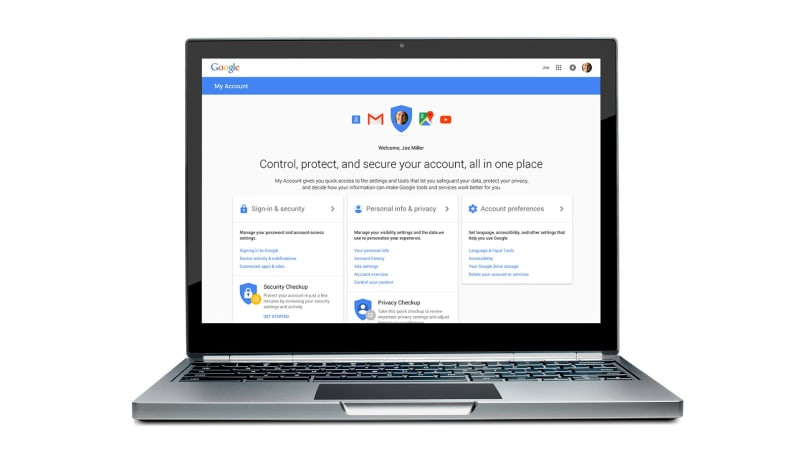Google simplifies security and privacy with new account hub