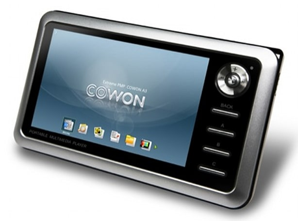 Cowon gets official with upgraded A3, Q5W PMPs