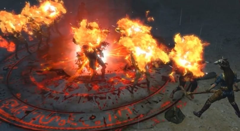 Path of Exile preps new flame effect and Taiwan patches