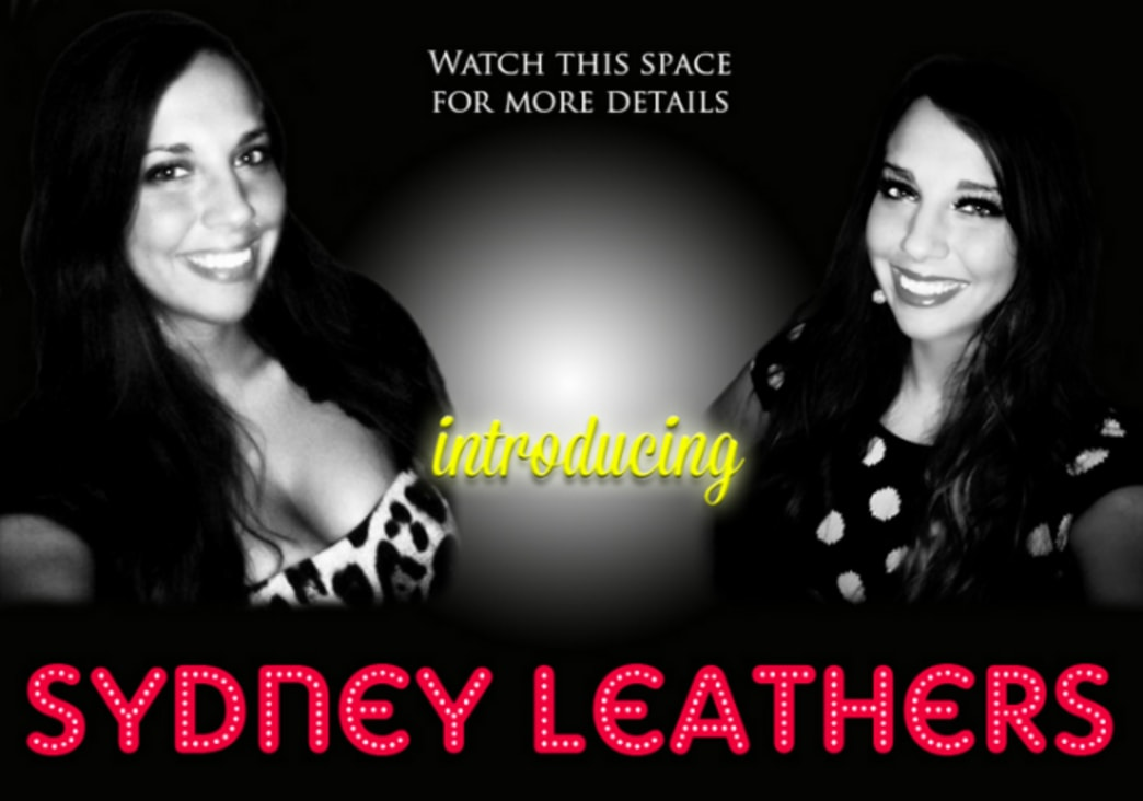 Sydney Leathers now modeling... leather