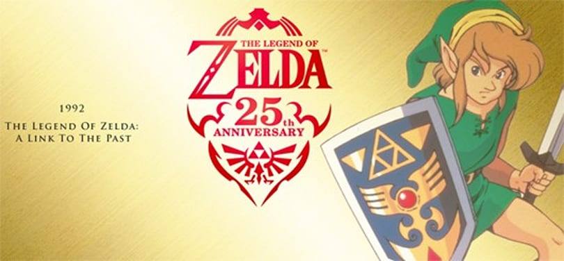 Nintendo celebrates Zelda's 25th with new website