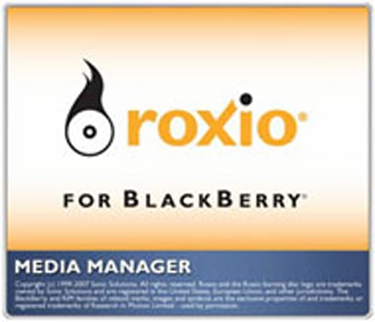 RIM's BlackBerry Desktop Media Manager released