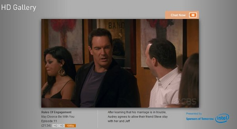 CBS.com ups the HD streaming ante, offers 1080p HD gallery of full episodes and clips