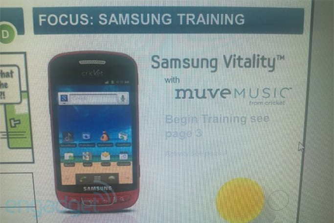 Samsung Vitality with Muve Music serenades itself to Cricket